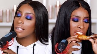 Reacting To HATE COMMENTS ASMR   Jackie Aina
