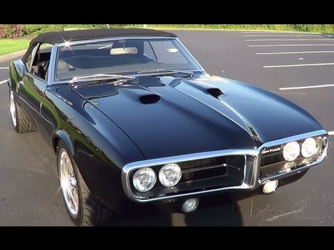 1968 Pontiac Firebird Pro Touring Car