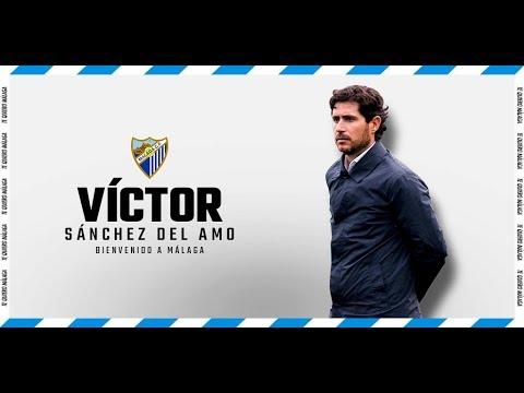 Víctor Sánchez del Amo, entrenador del Málaga hasta final de temporada