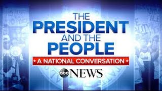 President Obama and the People Town Hall: A National Conversation