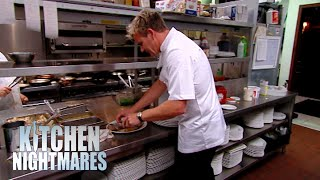 Gordon Ramsay Calls Out EVERY Mistake The Chef Is Making   Kitchen Nightmares