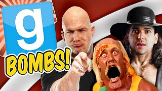 Gmod Bombs - Wrestling Champs (Garry's Mod Sandbox Funny Moments)