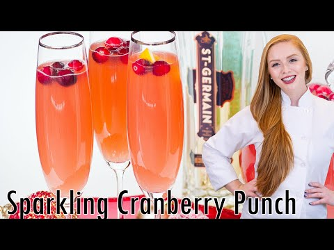 Video Sparkling Cranberry Punch