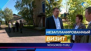Губернатор Андрей Никитин приехал в Волот с внеплановой проверкой социальных учреждений