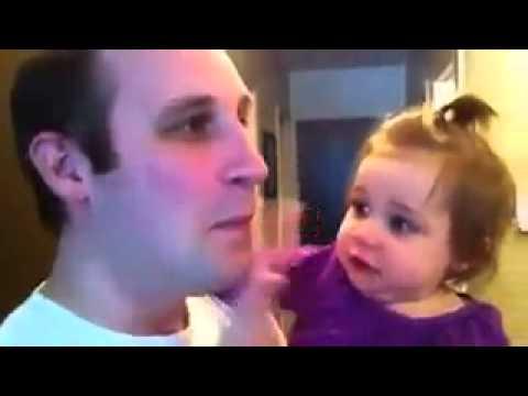 Bỏ râu, con gái ko nhận ra Cha nó