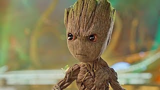 Baby Groot! - Behind the Scenes Filming with Baby Groot