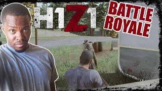 H1Z1 Battle Royale Gameplay - CLUTCH HEADSHOT! | H1Z1 PC Gameplay