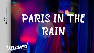 Lauv   Paris In The Rain (Lyrics  Lyric Video)