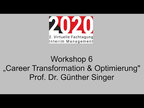 ", title : '""Career Transformation & Optimierung"" 