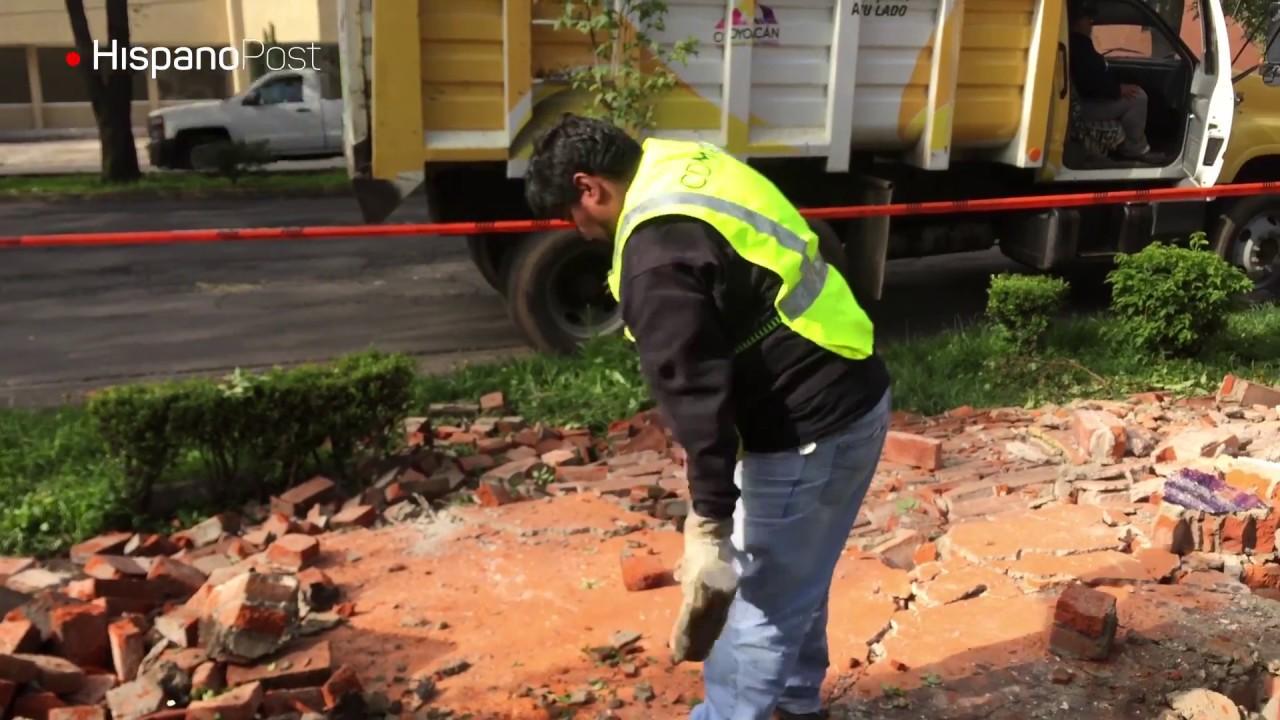 Los daños tras el potente sismo en México