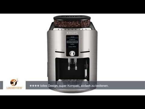 KRUPS EA826E Kaffeevollautomat (1,8 l, 15 bar, LC Display, Cappuccinatore) aluminium |