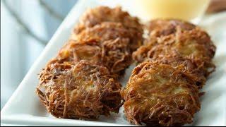 Best Ever Potato Latkes- Potato Pancakes Recipe