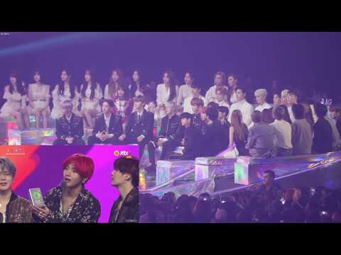 DOWNLOAD: [ENG SUB] 181201 MMA 2018 Artist Reaction to 방탄소년단