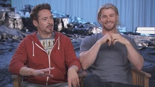 'The Avengers' Super Dads Hemsworth, Downey Jr. and Ruffalo Reveal Their Secrets!