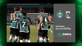 #CFCxAZU - Gol do Coritiba