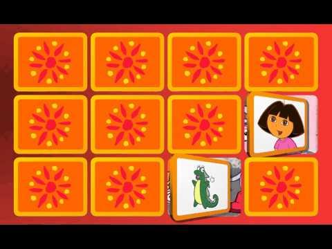 Juego de Dora la Exploradora: Dora memoria. GameKids Español
