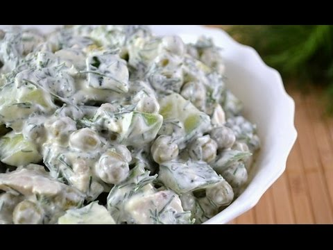 "Легкий и быстрый салат без майонеза ""ЛЕДИ"""
