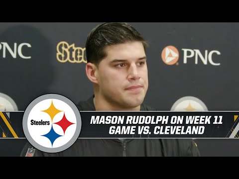 Mason Rudolph reacts to incident in closing seconds of Browns game | Pittsburgh Steelers