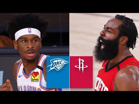 Oklahoma City Thunder vs. Houston Rockets [GAME 2 HIGHLIGHTS] | 2020 NBA Playoffs
