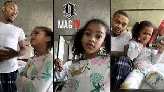 Bow Wow Has His Hands Full During Daddy Duty With Daughter Shai!