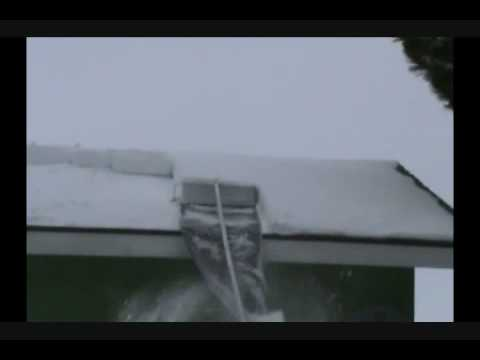 Snow Clearing Roof Rake