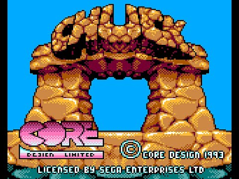 Chuck Rock II: Son of Chuck (Game Gear)