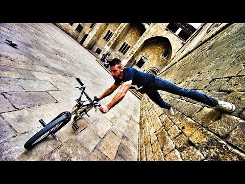 Bike Parkour 2.0 - Streets of Barcelona!