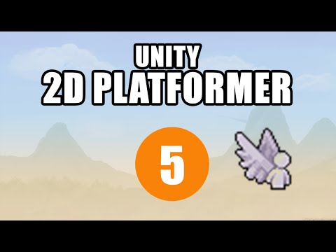 Unity Tutorial About How to Add Double Jump Feature To 2D Platformer