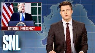 Weekend Update: President Trump Declares a National Emergency - SNL