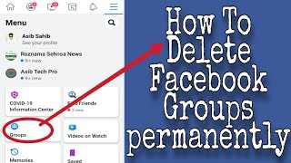 How To Delete Facebook Group Permanently   #Facebook Group Deleted Just 1 Click  FBGroup Delete 2020