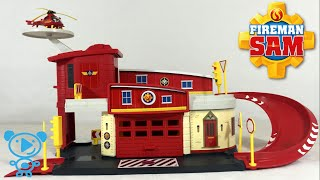 Brandweerman Sam Garage : Fireman sam fire station видео Видео