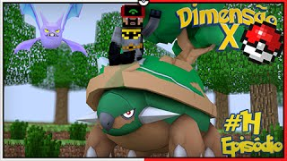Crobat  - (Pokémon) - Minecraft DIMENSÃO X #14 - FINALMENTE TORTERRA GIGANTE E CROBAT INSANO [Pixelmon]