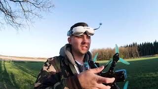 FPV Training gone WRONG! Stuck in the tree
