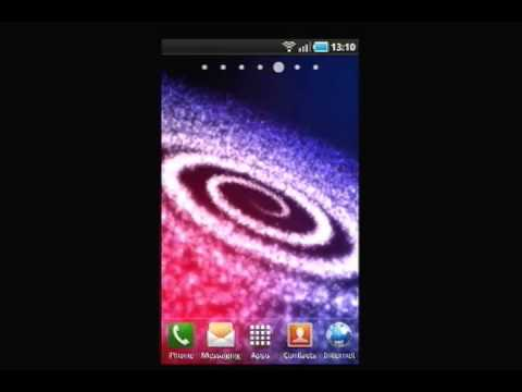 Video of Milky Way Galaxy Core LWP