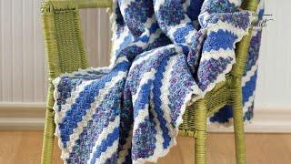 Crochet Corner To Corner Afghan (C2C)