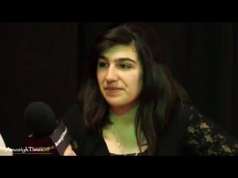 Lina Charif op Amazigh nieuwjaar viering Den Haag