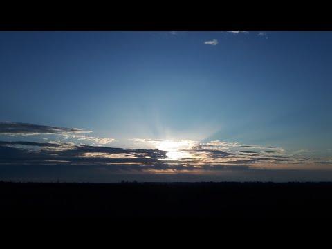 Красивый восход солнца.Доброе весеннее утро.
