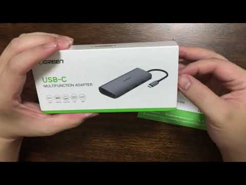 Ugreen Multi function All in One USB C Hub – Unboxing Overview