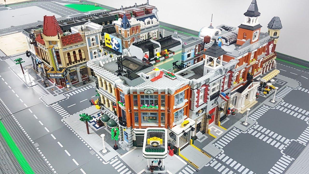 LEGO City Update - Placing Modular Buildings!