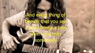 Chris Cornell - Wave Goodbye (Lyrics)