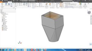 Autodesk Inventor, calculate internal volume of a hopper