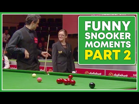 Funny Moments in Snooker of 2017 | Part 2