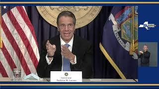 Governor Cuomo Holds Briefing and Delivers Update on COVID-19