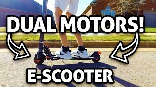 Dual Motor Scooter! CityRover S5 REVIEW