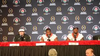 Rose Bowl Champs: Dawgs win 2OT slugfest over No. 2 Oklahoma 54 - 48