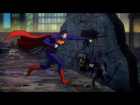 Superman vs Batman & Green Lantern | Justice League: War