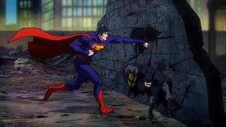 Superman vs Batman & Green Lantern | Justice League: War