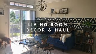 Living Room Decor & Haul-Tribal Bohemian Vibe