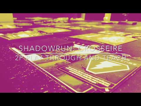Shadowrun: Crossfire - Crossfire Playthrough and teach