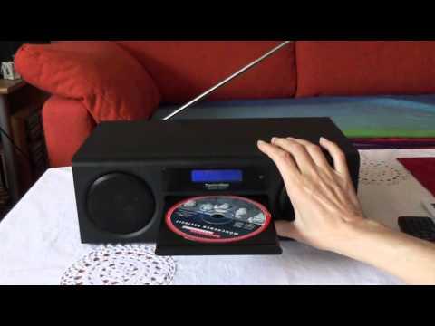 Vorstellung von dem digidalen Radio Technisat Digitradio 350 CD